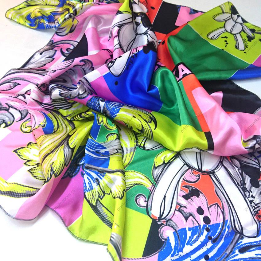Шейные платки с логотипом