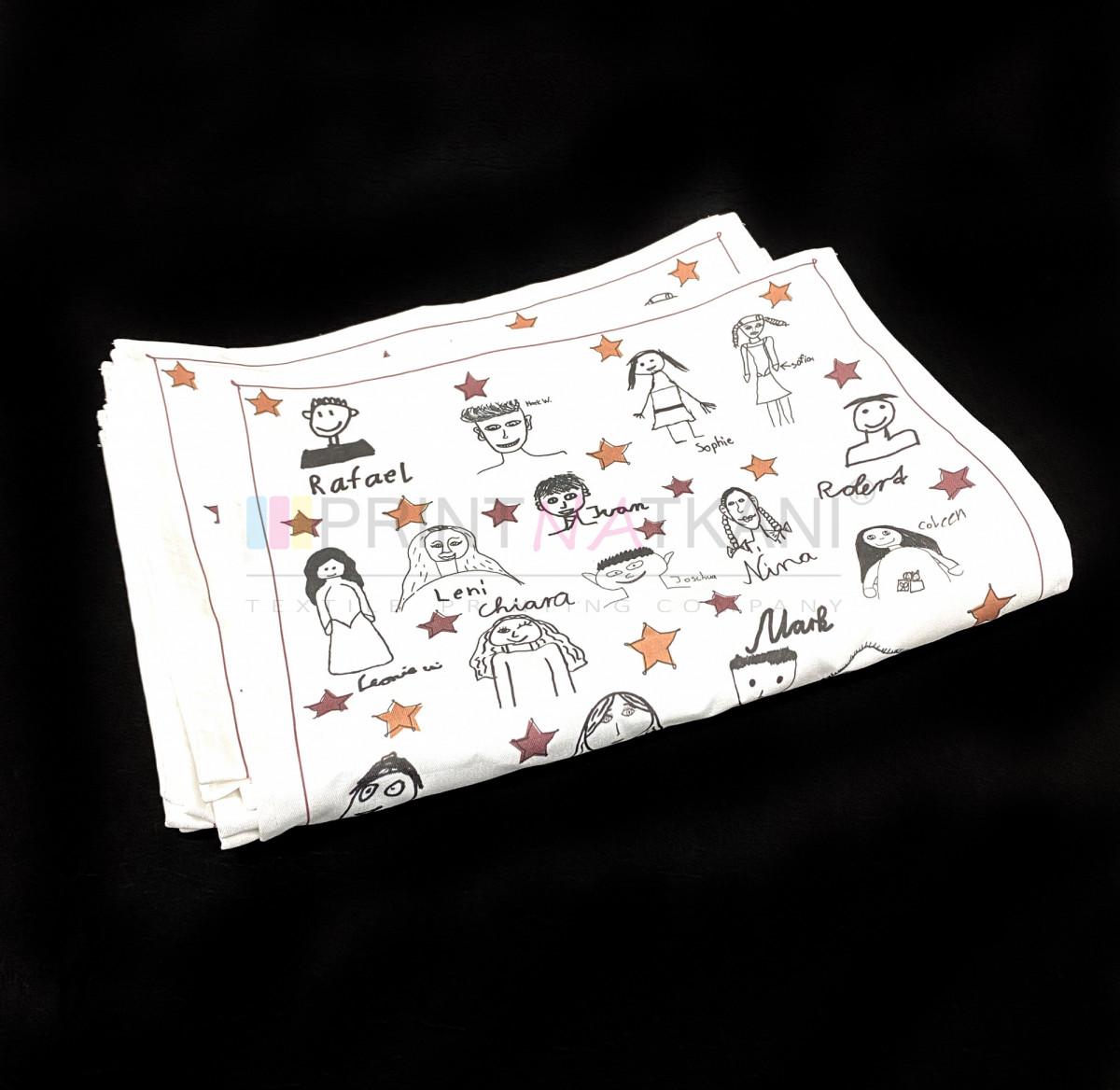 Полотенце из хлопка с печатью на заказ