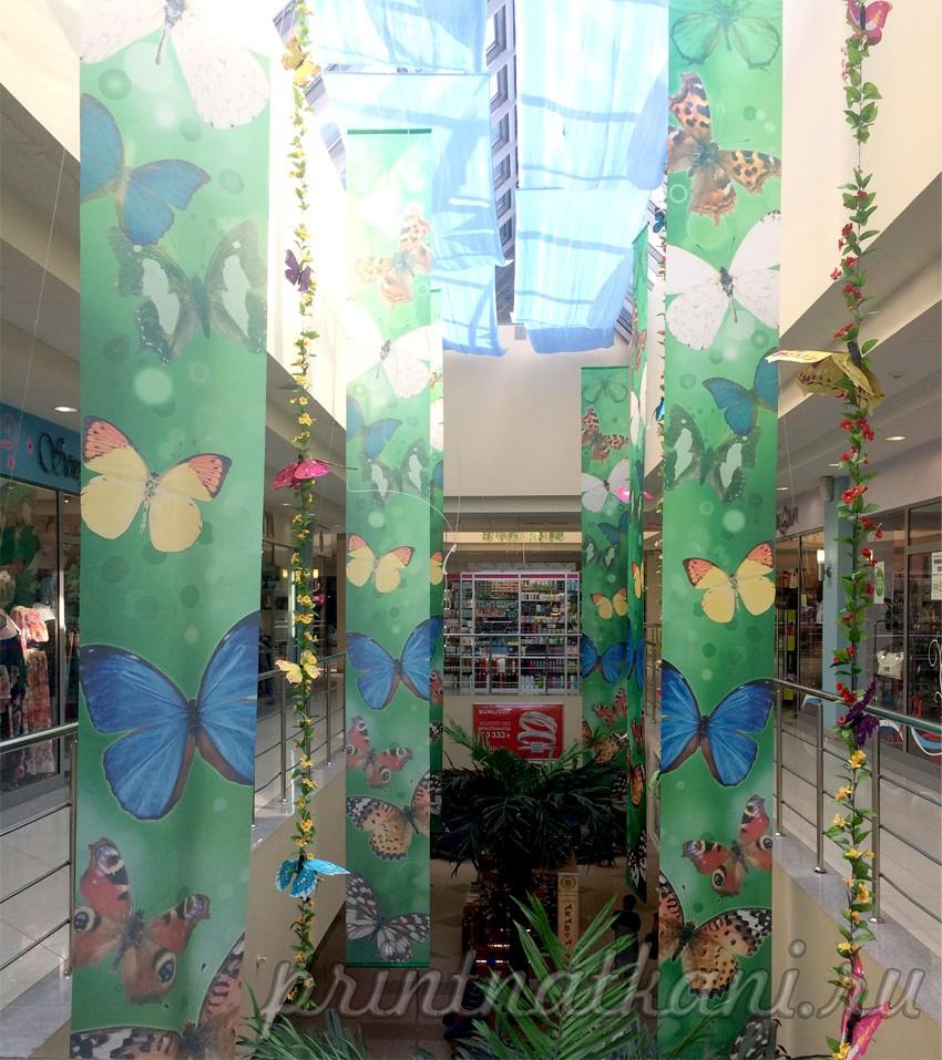 Декорации для торгового центра