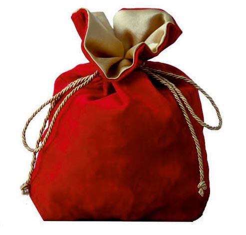 Подарочные мешочки новогодние