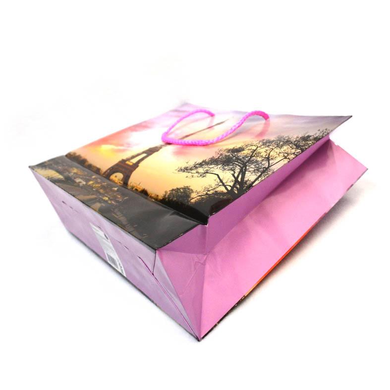 Подарочный пакет цветной
