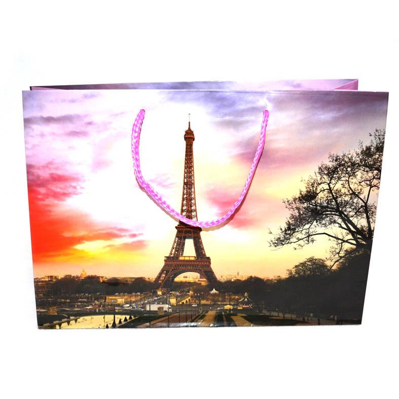Пакет с фото Эйфелевой башни