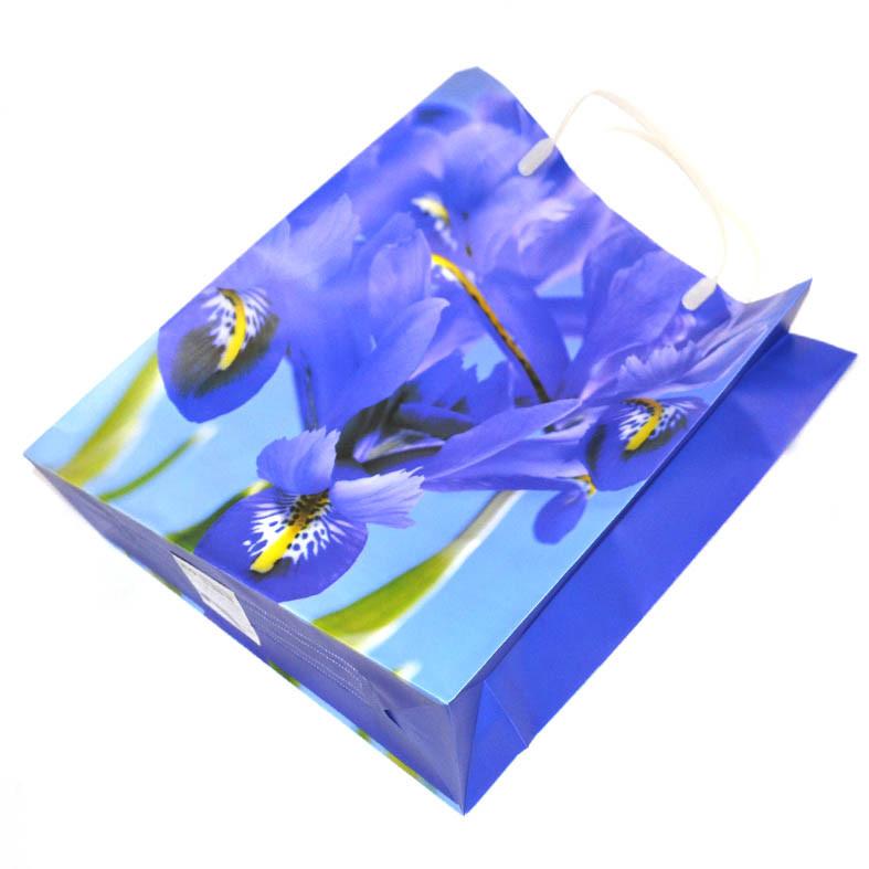 Пакет с ирисами