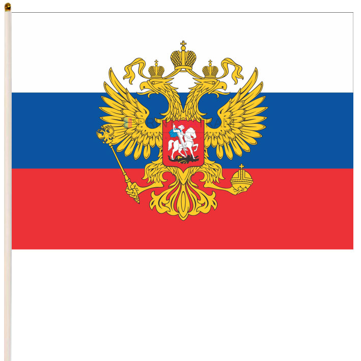 Флаг России с гербом купить