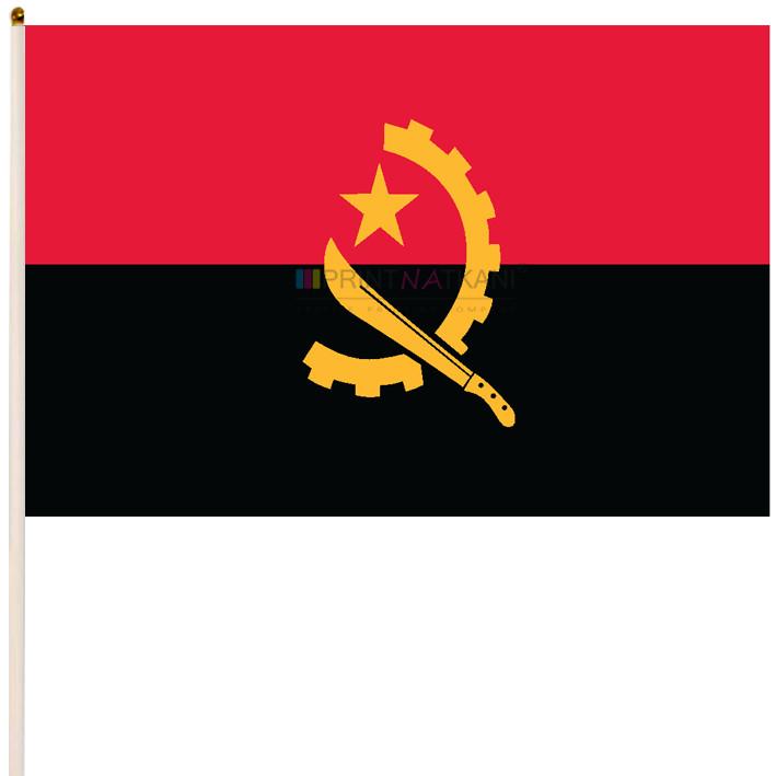 Флаг Анголы, Флаг республики Ангола
