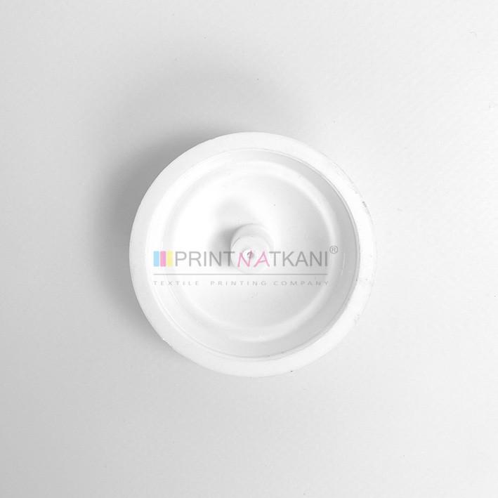 Подставка для флажков, белая пластиковая, на 3 флажка