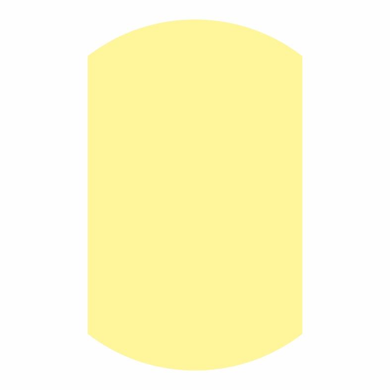 Косая бейка светло-желтая
