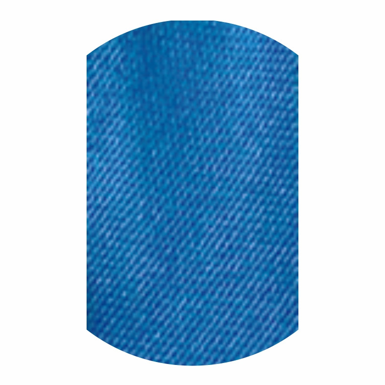 Косая бейка синяя