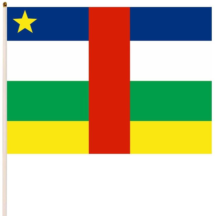 Флаг Центрально-африканской Республики, ЦАР купить