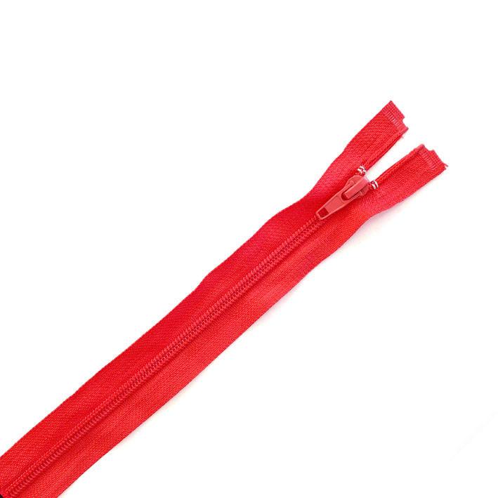 Молния красная, разъемная, 65 см