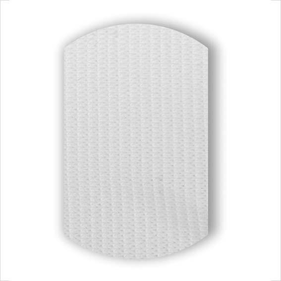 Резинка декоративная белая
