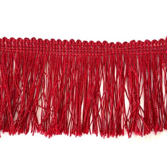 Бахрома красная