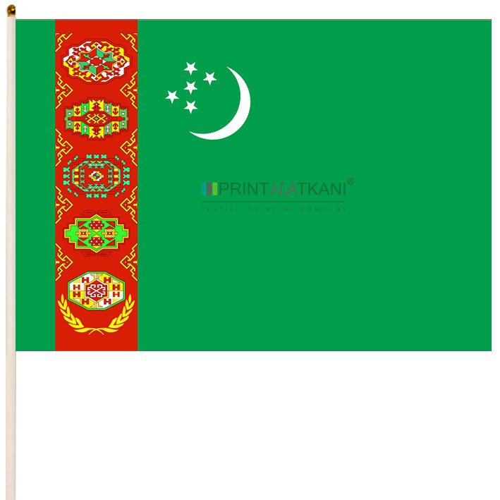Флаг Туркмении купить