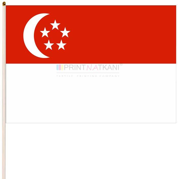 Флаг Сингапура купить