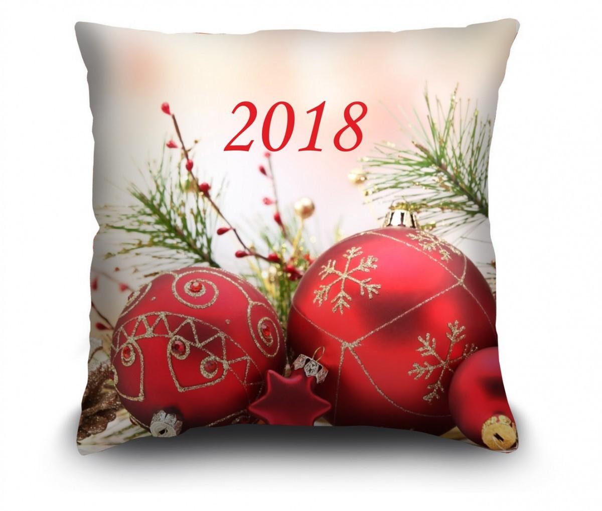 """Подушка """"С Новым Годом"""""""