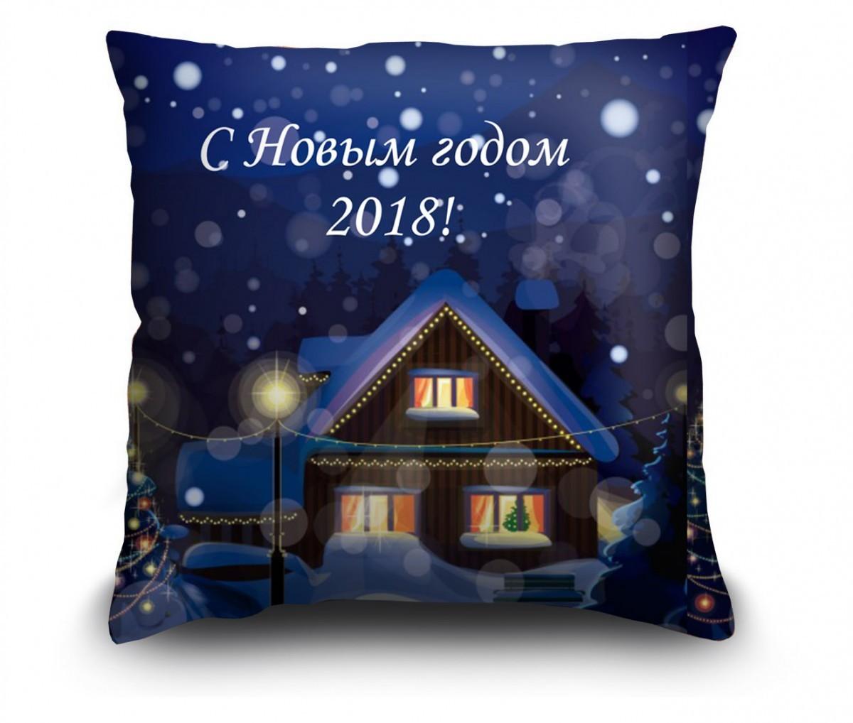 "Подушка ""Ночь перед Рождеством"""
